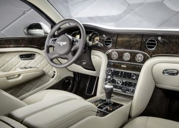 2017 bentley suv interior